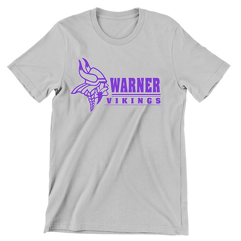 Warner Vikings grey super soft t-shirt