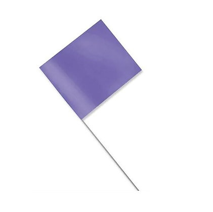 Marking Flag Purple