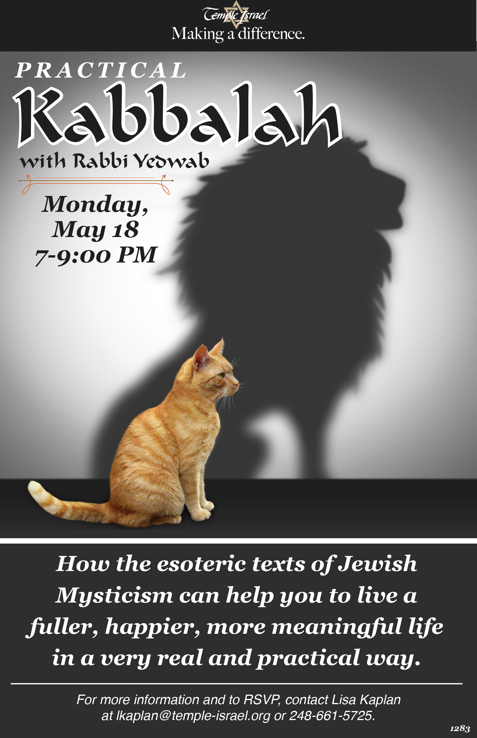 1283 - Practical Kabbalah with Rabbi Yebwab