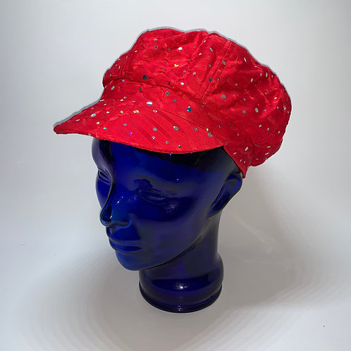 Cabbie Cap (Red)