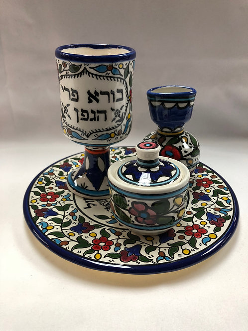 Havdalah Set - Ceramic