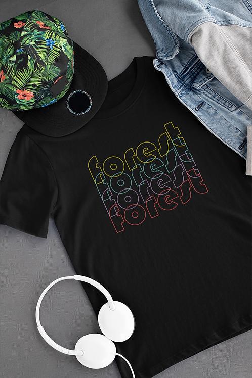 Forest Super Soft T-shirt Design 1