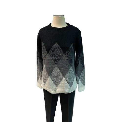 Diamond Pullover Sweater