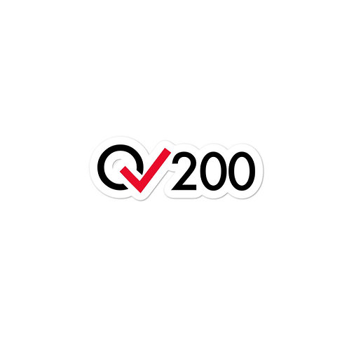 200 Rides Milestone stickers