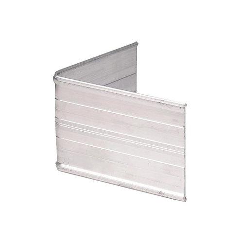 Silver Aluminum Edging 8'