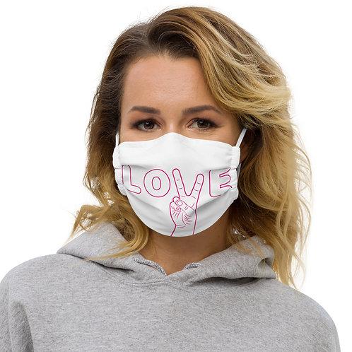 LOVE Premium face mask