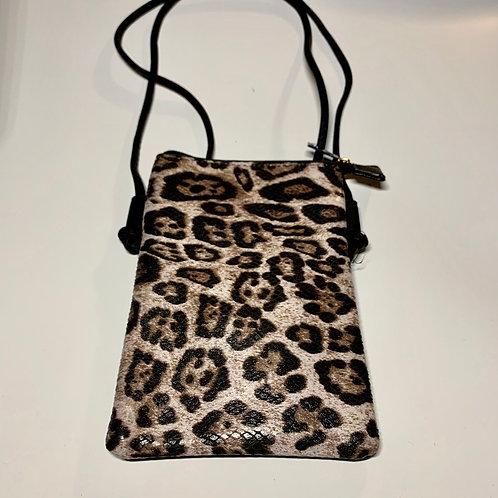 Beige Leopard Purse