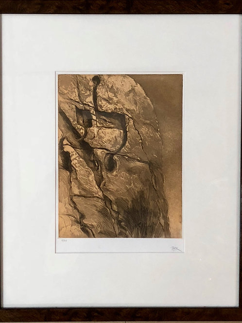 """""""Lo"""" - Samuel Bak Limited Addition #14 of 60 Etching"""