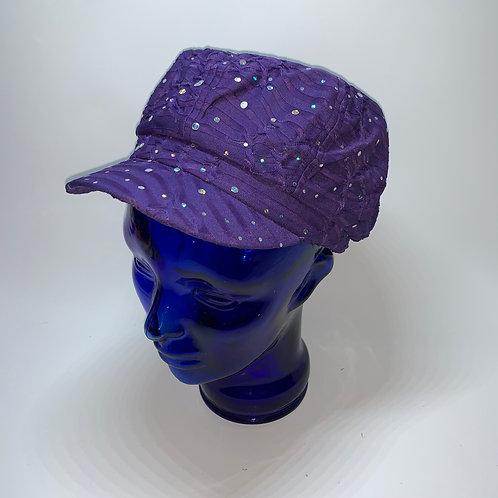 Cabbie Cap - (Purple)