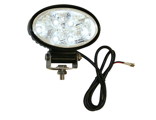"Oval 5.5"" Wide LED Flood Light"