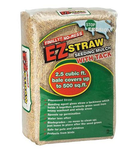 EZ-Straw Seeding Mulch w/Tackifier 2.5 Bale