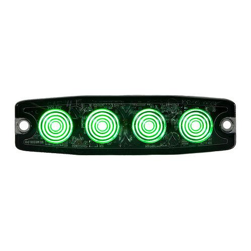 "Ultra Thin 4.5"" Green LED Strobe Light"