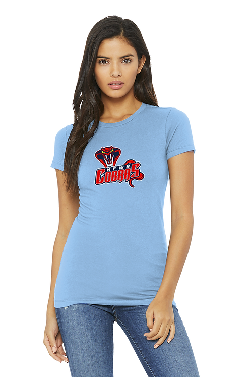 Blue Bella+Canvas® Women's The Favorite Tee Shirt