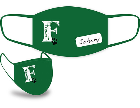 Forest Elementary Face Masks