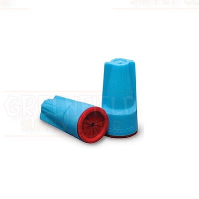 DryConn® Outdoor Electrical Wire 5 Connectors Aqua/Red