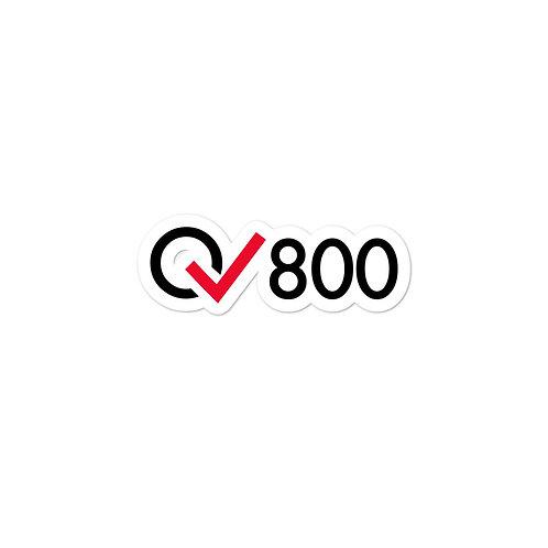 800 Rides Milestone stickers