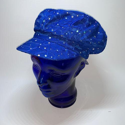 Cabbie Cap (Blue)