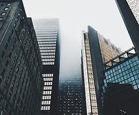 Mist Over Skyscrapers