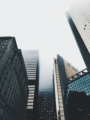 Туман над небоскребами