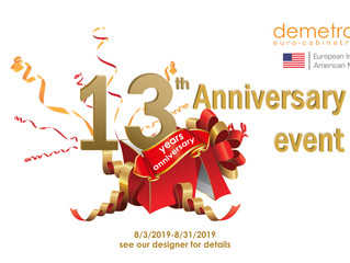 Check Out Our 13th Anniversary Sales Event!