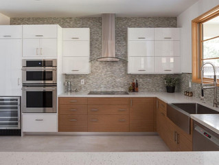 Mix Style Kitchen---different color..different material..