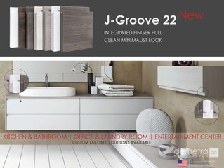 Now Offering J-Groove Cabinets!
