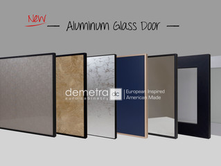 New Aluminum Glass Door