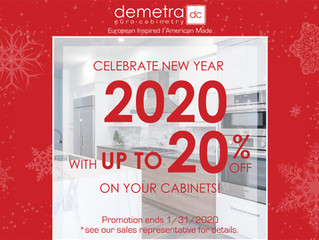 Celebrate 2020 With up to 20% Off!