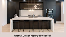 What Are Counter-Depth Upper Cabinets?
