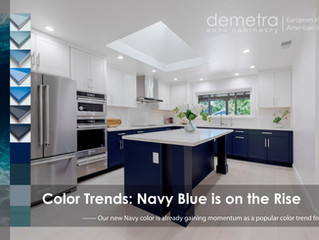 Color Trends: Navy Blue is on the Rise