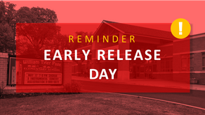 Plan Ahead, Early Release Day | Nov 27