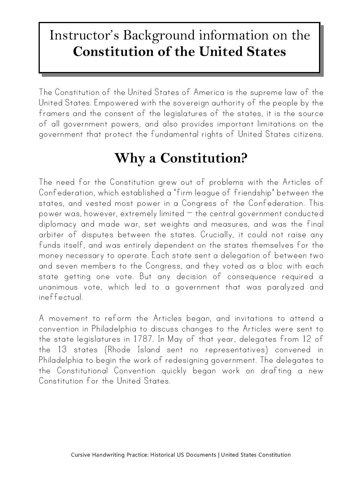 worksheet Us Constitution Worksheets 100 the us constitution worksheet solve then decode handwritingworkbooks cursive handwriting copybook u s constitution