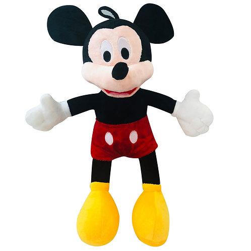 Peluche Mickey Mouse De Felpa Y Algodón Siliconado