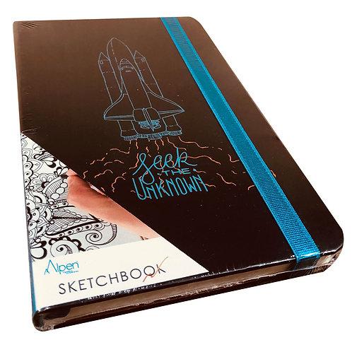Sketchbook Astronauta Nave Espacial