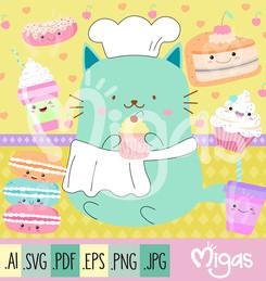 gato_cocinero_cupcakes_clipart_migas_tienda.jpg