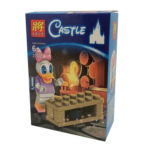Figura Tipo Lego Pata Daisy De Disney Bloclassic Lele 37005