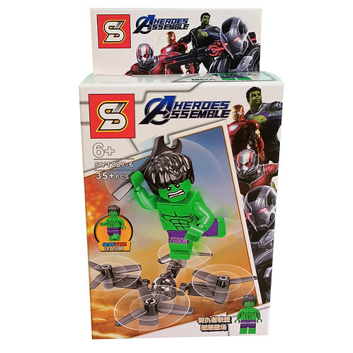 Lego Figura Hulk Marvel Avengers Classic  SY1287-6