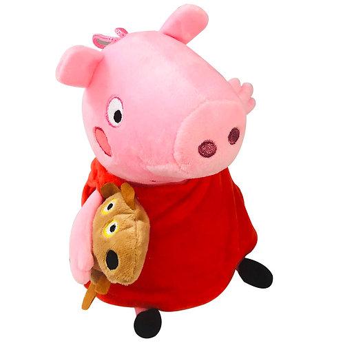 Peluche Pepa Pig Con Mascota