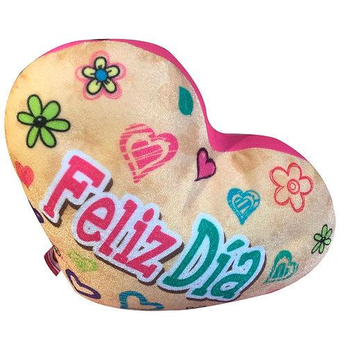 Corazón Relajante Antiestres Feliz Día Con Esferas
