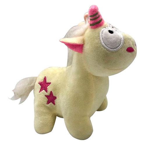Peluche Unicornio Amarillo Pegaso Caballo Para Coche De Bebé