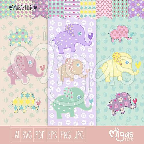 Lindos elefantes