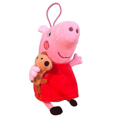Peluche Peppa Pig Figura Ficción Con Su Peluche Teddy Bear