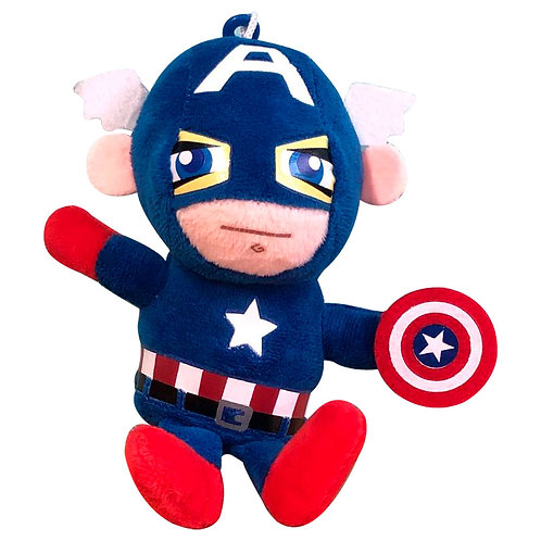 Peluche Capitán América Avengers Los Vengadores De Marvel