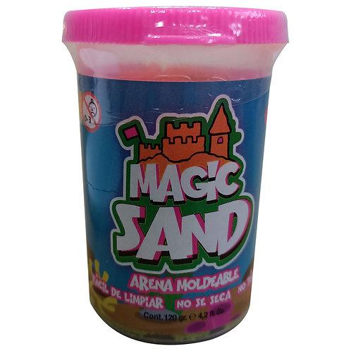 Arena Mágica Moldeable Roja Magic Sand X 120 Gr