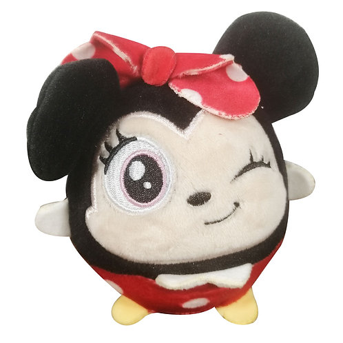 Peluche Minnie Mouse Squichy Redondo Y Suave