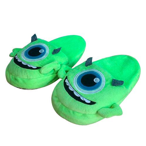 Babuchas Pantuflas Mike Wazowski verde XL