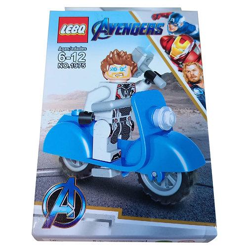 Lego Figura Thor Motorizado Marvel Avengers Classic Lbq 1975