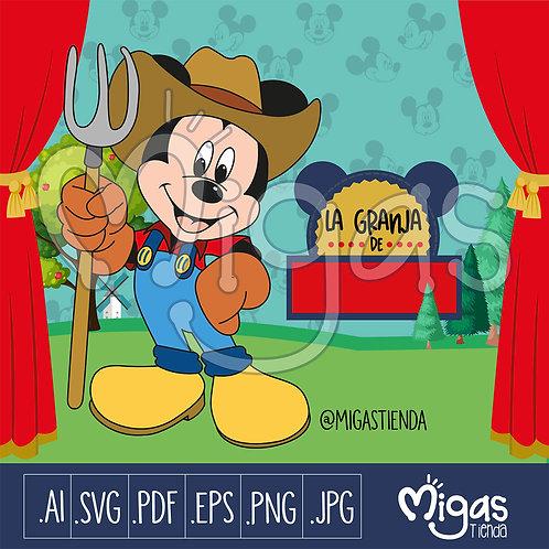 Mickey Mouse Granjero