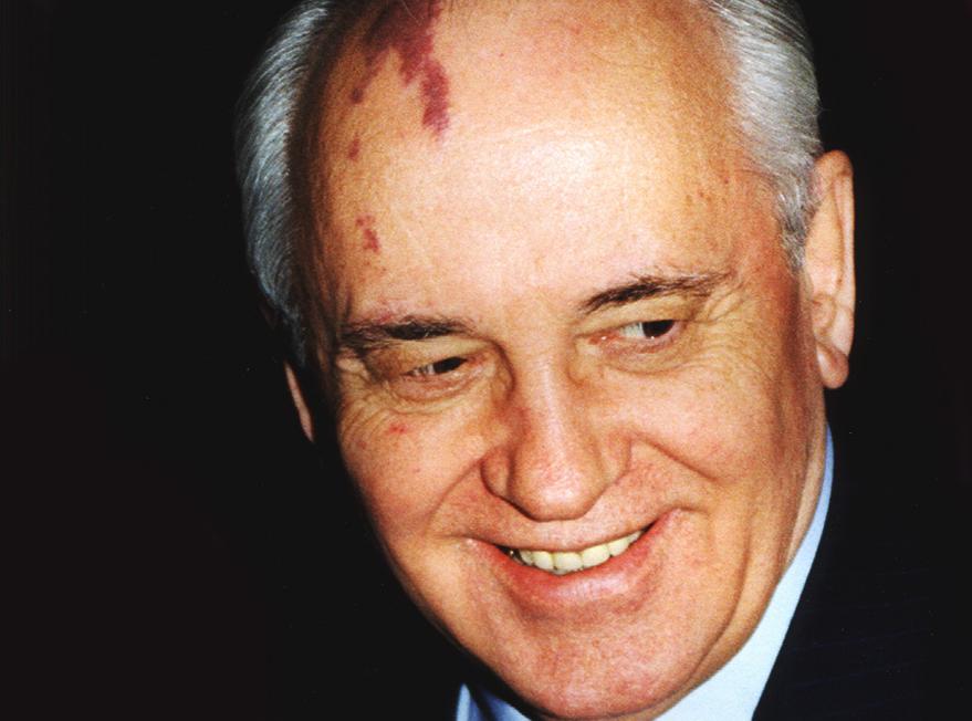 Mikhail Gorbachev by Craig Peihopa