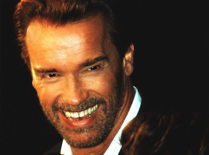 Arnold Schwarzenegger by Timeline
